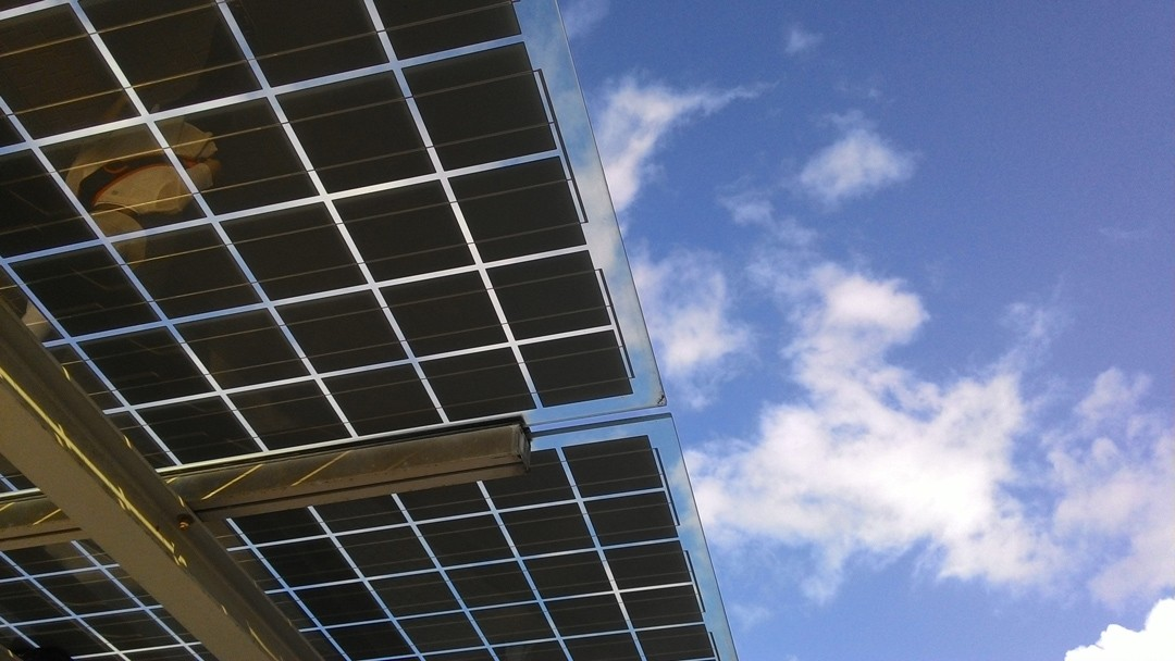 Solar Panels to Supplement University Generator